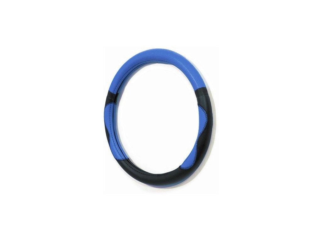 Potah volantu FANCY - modrý / CAR