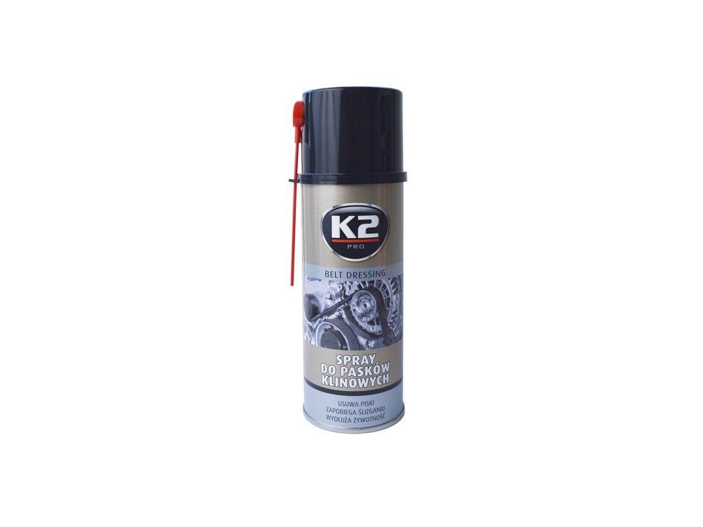 K2 BELT DRESSING 400 ml - spray na klínové řemeny