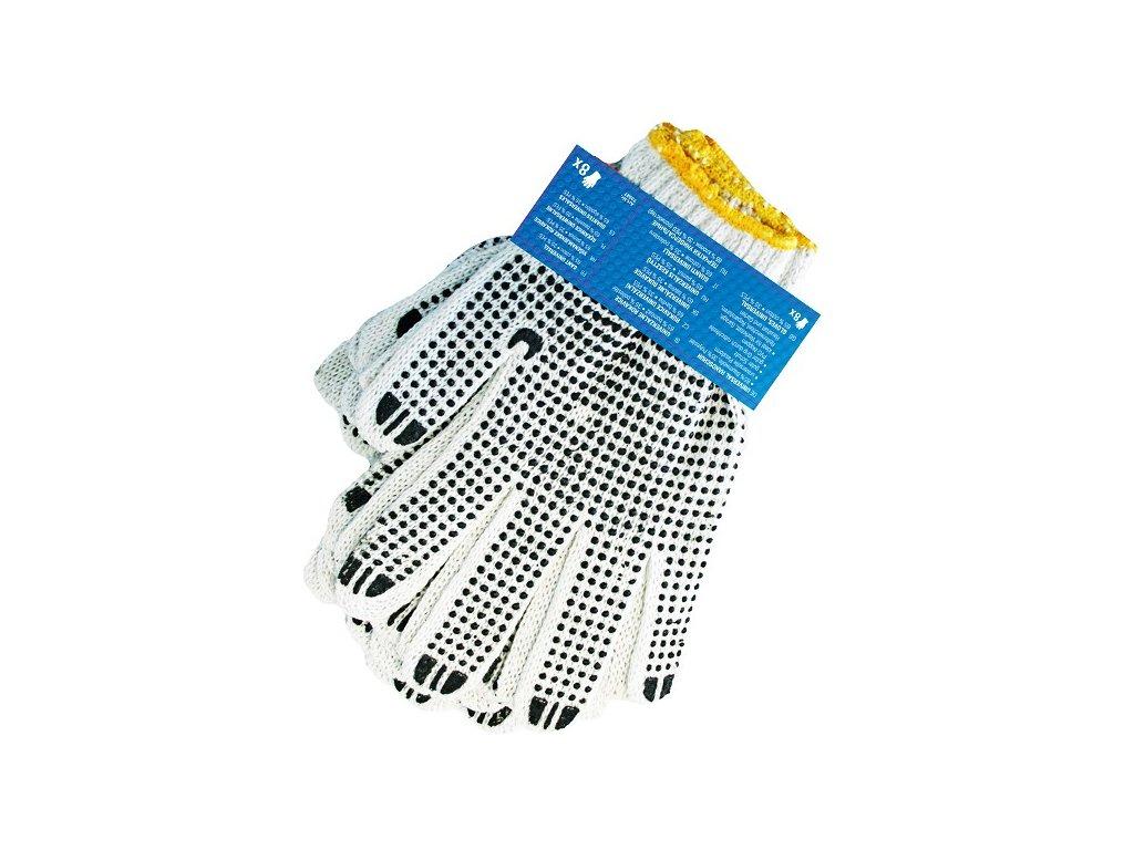 Rukavice pracovní textilní ALPIN / pletené   AT