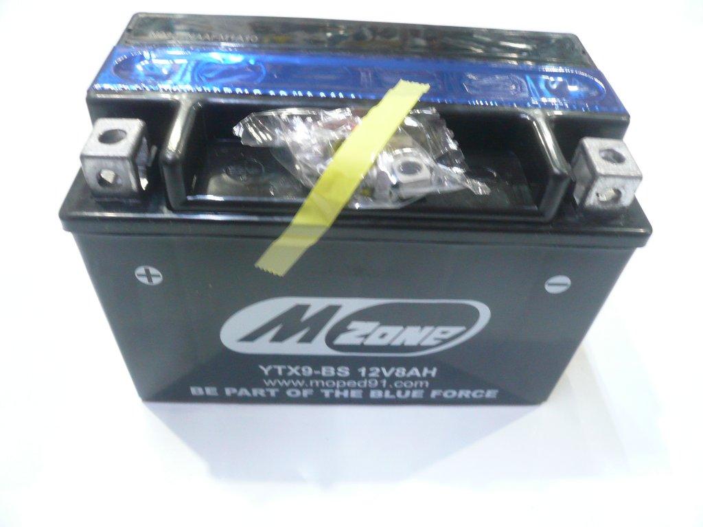 Baterie NOVELBAT 12V 8Ah +L gelová YTX9-BS