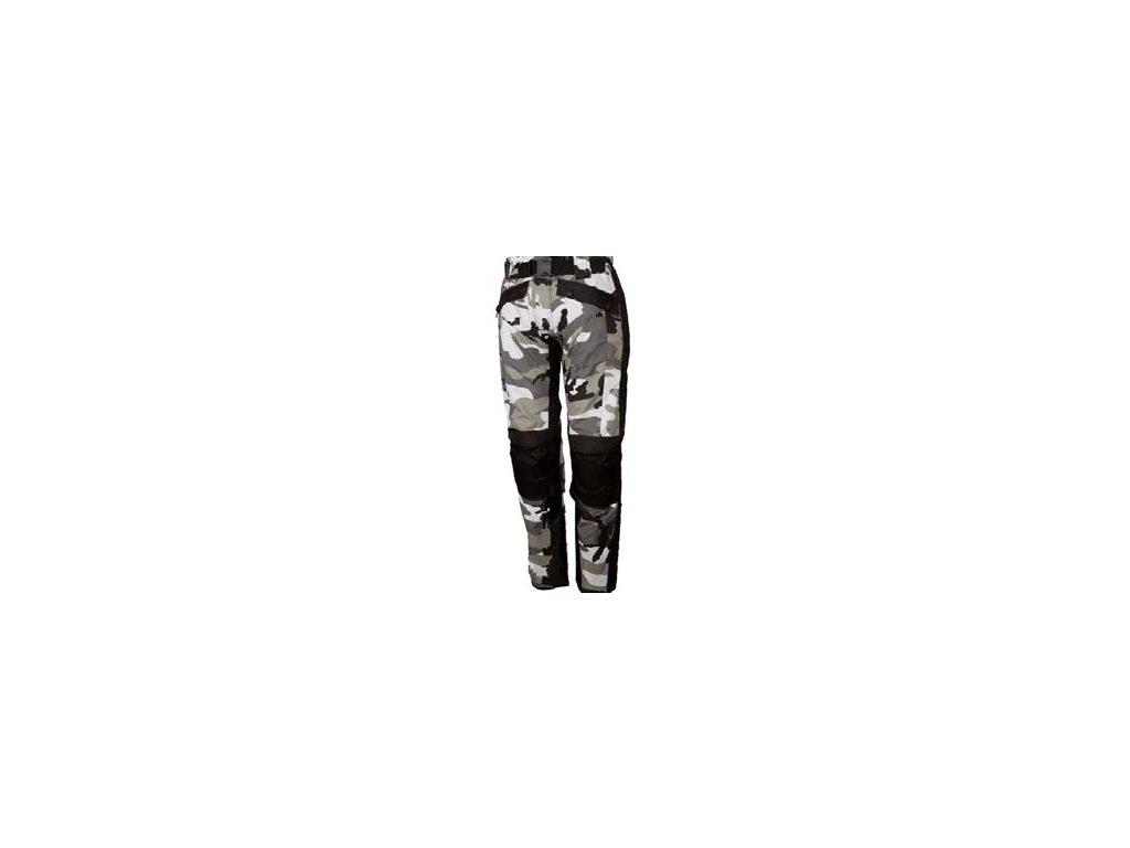 Kalhoty MOTO COMOUFLAGE TEXTILE PANT GREY COLOUR