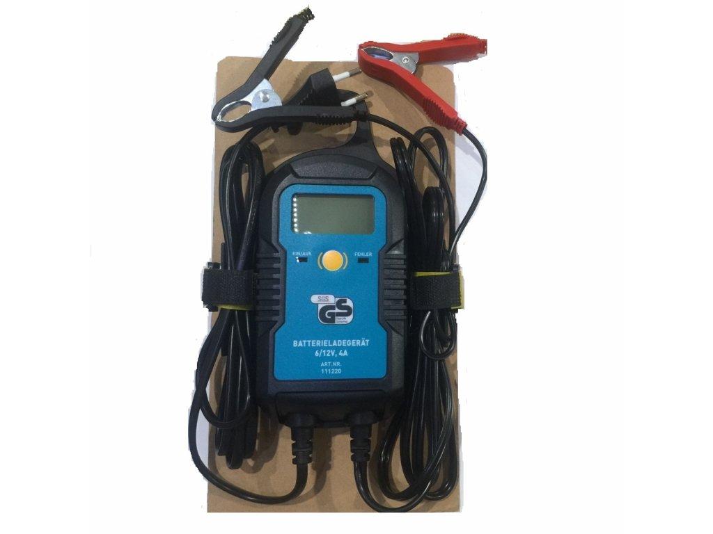 Nabíječka PROFI micro 6/12V 4 Amp. CARTOPIC