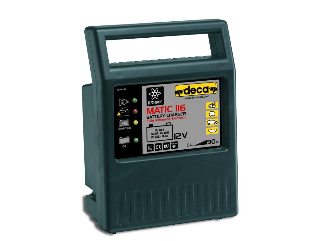 Nabíječka DECA MATIC 116 automat 12V/4A IT