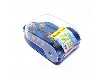 Žárovky servisní box ŠKODA 120