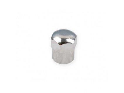 Čepička ventilku kovová okrasná šestihran