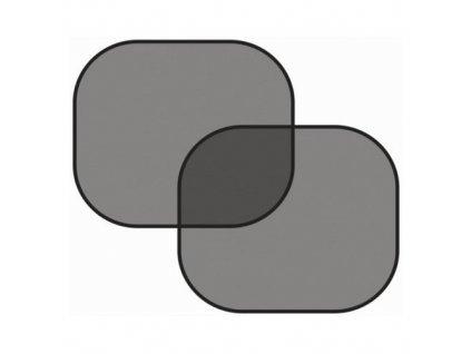 Clona sluneční na boční okno černá 2 přísavky