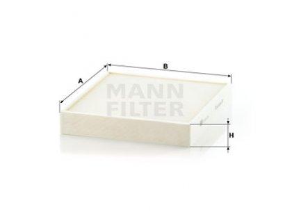 Filtr pylový FABIA II + III / ROOMSTER 7.10.2010- / RAPID  MANN / OE (6R0820367)