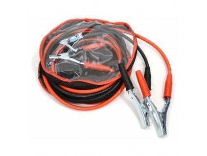 Kabely startovací 200 A 2,5 m, 50% měď, 3,2 mm2