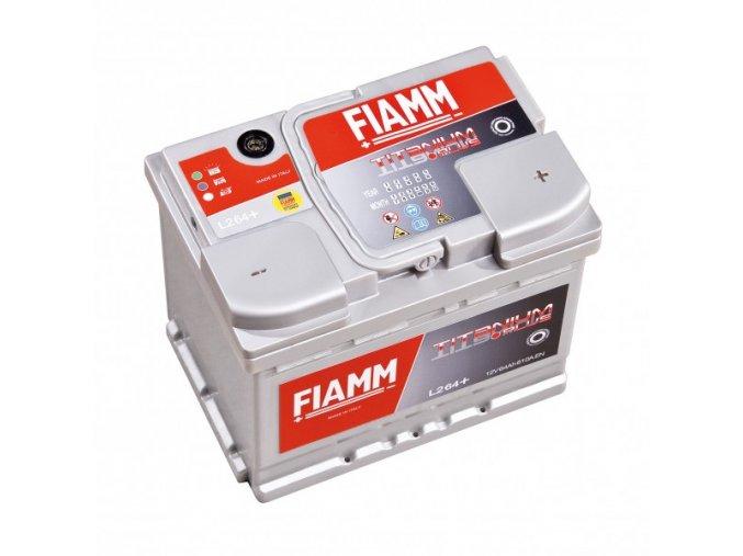 FIAMM 12V 60Ah Titanium 600A