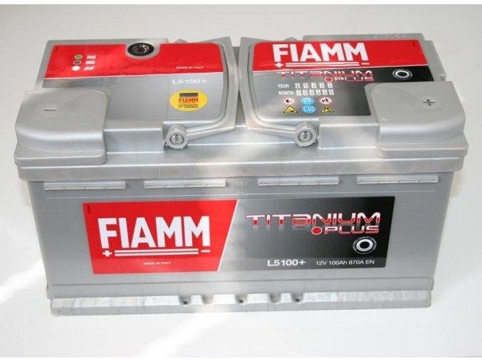 FIAMM 12V 100Ah Titanium 730A