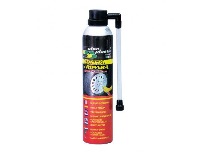 Spray na opravu pneu STAC PLASTIC GONFIA 300ml