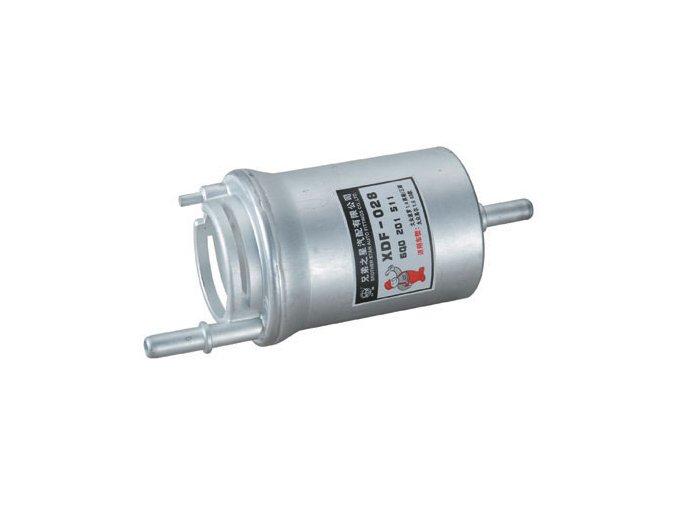 Filtr paliva 3 vývody FABIA  1,4/55+74KW+1,2/40+47KW  PUROLATOR / D (6Q0201511)