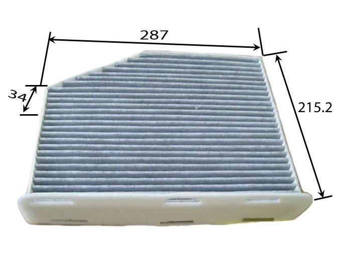 Filtr pylový OCTAVIA II / SUPERB II   N.V (1K0819644B, 1K0819644, 1K0819644A )