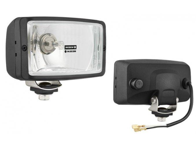 Přídavné světlomety na auto (138 x 78 x 68 mm) - sada 2 ks - WESEM  PL
