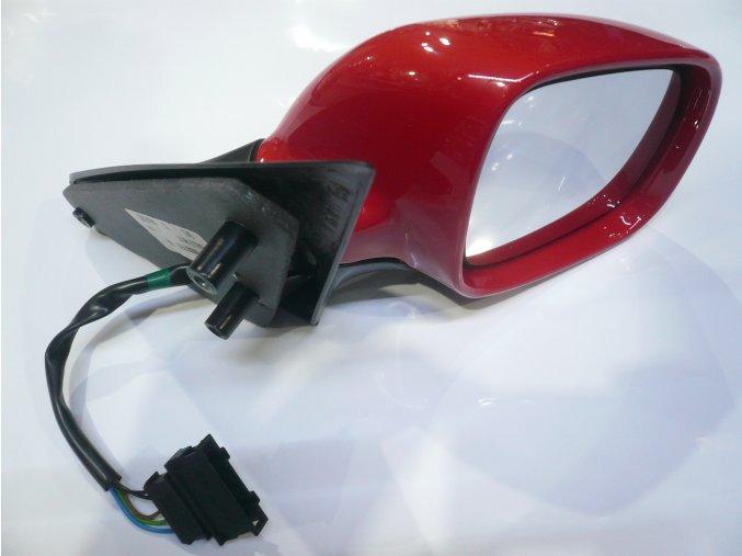 Zrcátko P OCTAVIA elektrické malé / červená OE (1U1857502M GRU, 1U1857502CGRU )