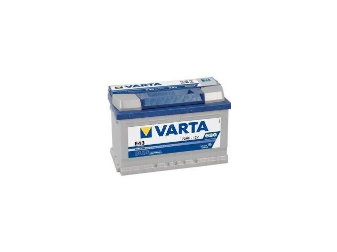 Varta 12V 72Ah blue dynamic
