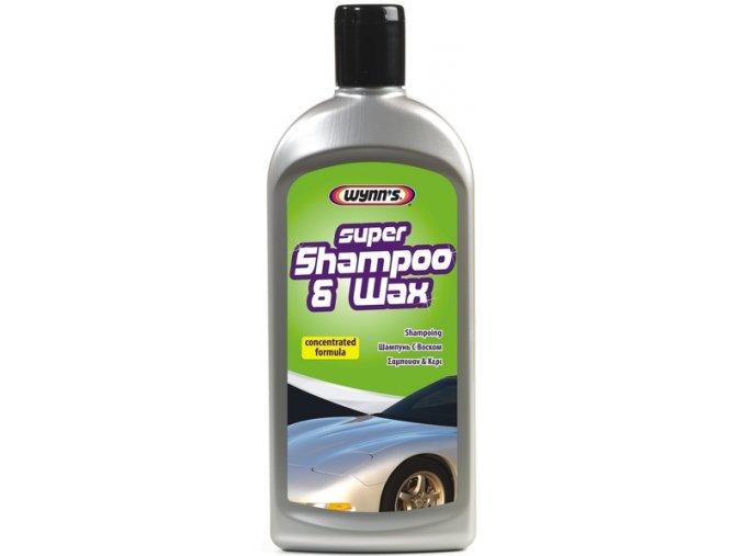 Šampón s voskem Super Shampoo & Wax