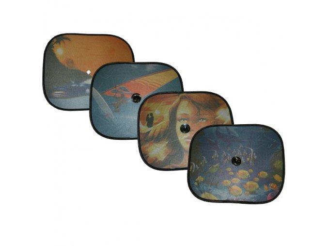 Clona sluneční na boční okno MOTIV 2 přísavky