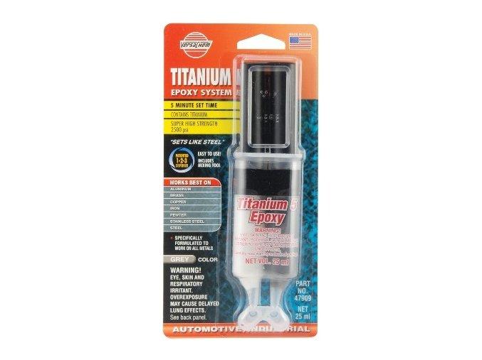 Dvousložkové lepidlo - s obsahem titanu VERSACHEM 25ml