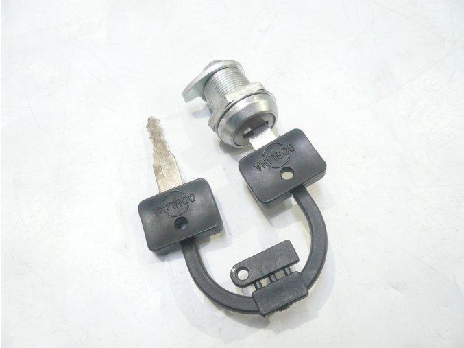Zámek schránky - 2x klíč SIMSON, MZ, ETZ