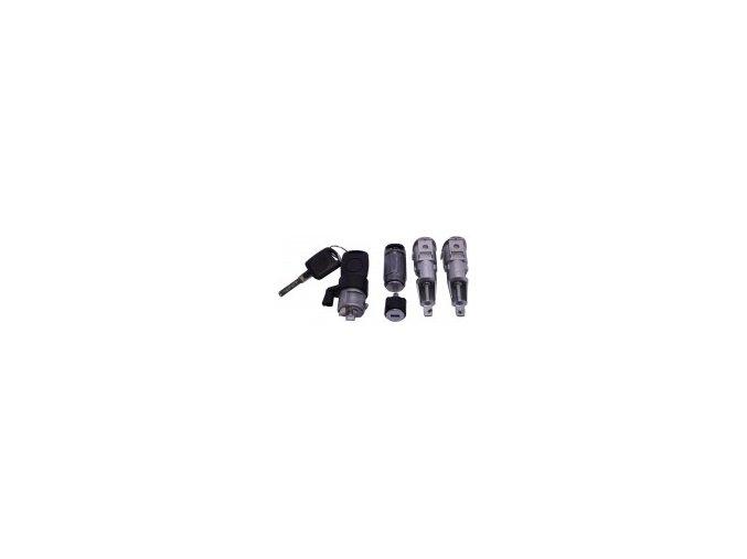 Sada zámků OCTAVIA LX / pro vozy bez imobilizéru  OE (1U0800375C, 1U1800375, 1U1800375A, 1U1800375BA, 1U1800375CG, 1U1800375DC, 1U1800375G, 1U1800375J)