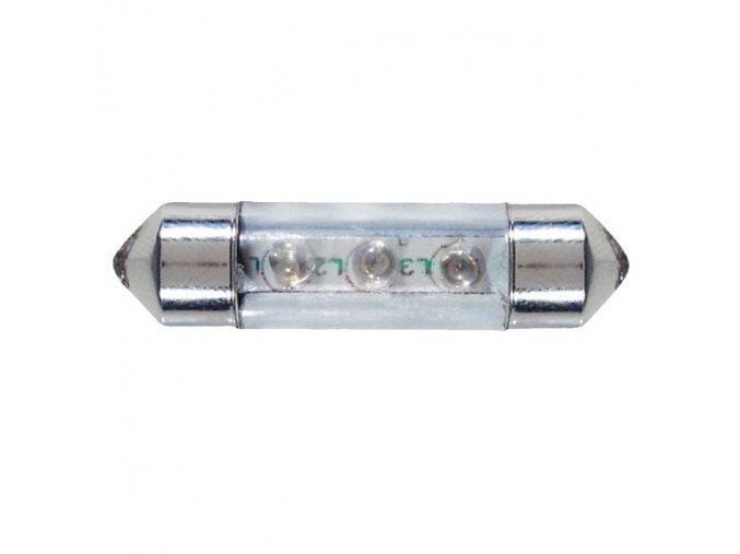 LED žárovka sufit, 36 mm, bílá, 2ks