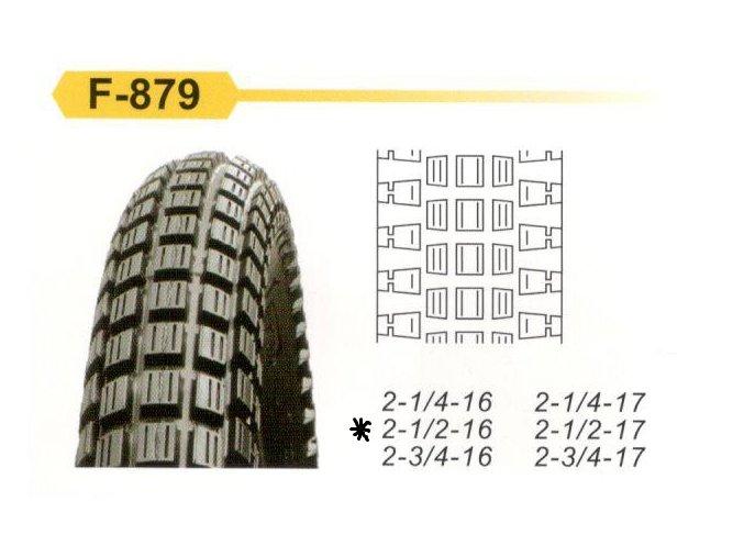 F 879 2,50 162pr