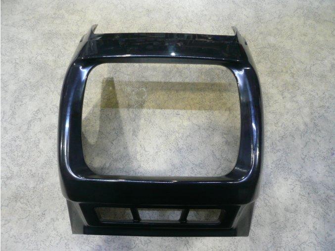 Maska předního světla černá ( ovál. světlo ) JAWA 640   CZ+ / OE