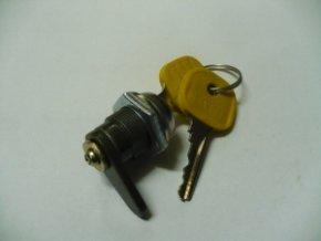 Zámek schránky žlutý klíček  SIMSON
