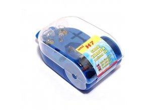 Žárovky servisní box univerzální 12V H7