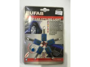 Osvětlení interiéru LED 5 modrá CAR STYLING LIGHT  EUFAB