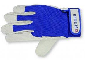 Kožené montážní rukavice BERNER 9