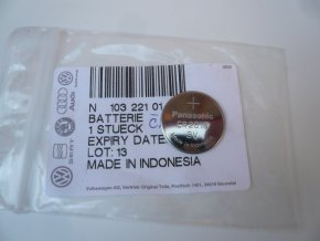 Mikrobaterie klíčku 3V OCT/FAB  OE (N10322101)