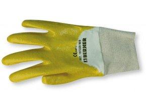 Rukavice Nitril-kaučuové žluté Top 9