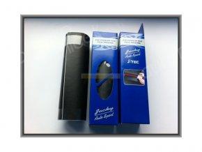 Folie na sloupky a prahy dveří auta, černá, rozměry 22 x 100 cm JACKY