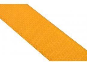 Samolepící páska reflexní 1m x 5cm bílá/červená/oranžová