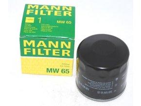 Filtr olej moto MW65 MANN  D+