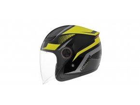 reflex helmet cassida black hi vis grey i186696