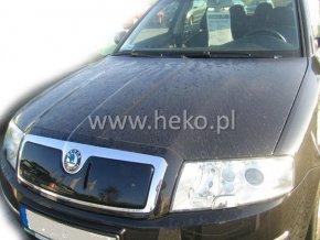 Zimní kryt masky chladiče SUPERB I 02-8/08  HEKO  PL