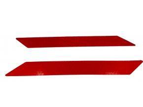 Samolepící odrazová fólie 3D červená