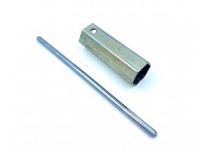 Klíč na svíčky 21mm  ( UNI,Jawa,ČZ,Sim,MZ )