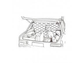 Síť na převážení psů CARPOINT / do zavazadlového prostoru