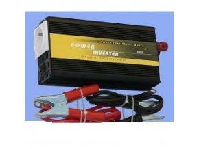měnič napětí 24V/230V 500W