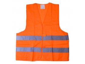 Vesta reflexní oranžová  XXL  EN 20471 : 2013