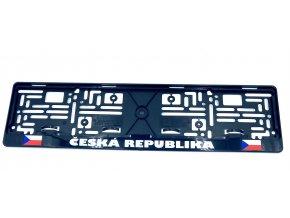 Podložka SPZ Česká Republika   CZ
