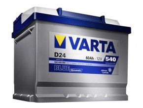 Varta 12V 60Ah 540A EN blue dynamic  CZ+