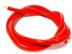 Kabel vysokonapěťový ZRYA červený 1m