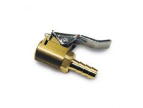 Koncovka hadičky hustilky páčková D8 kovová