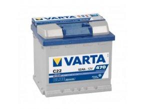 Varta 12V 52Ah 470A EN blue dynamic  CZ+