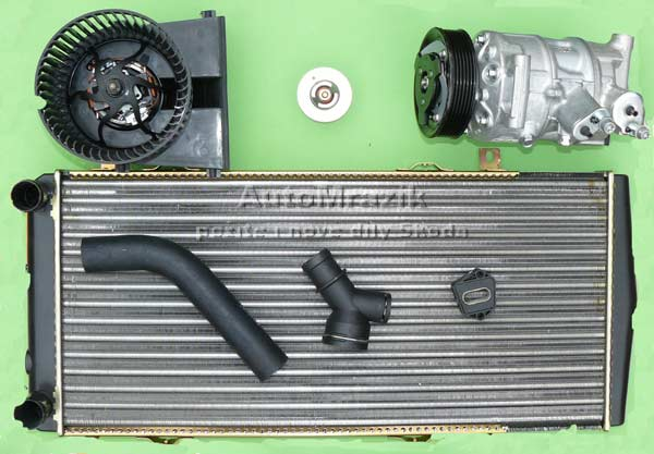 Chlazení - Klimatizace - Topení - Škoda Citigo